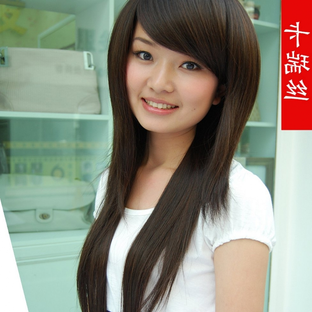 Women Hairstyle : Asian Shaggy Hairstyles Images About Hair Styles Throughout Widely Used Asian Shaggy Hairstyles (View 3 of 15)