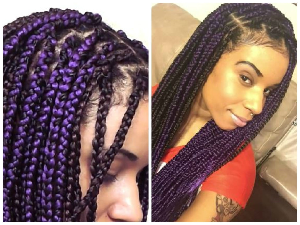 1 Simple Way You Can Limit Breakage While Wearing Box Braid Extensions Inside Braided Updos With Extensions (View 3 of 15)