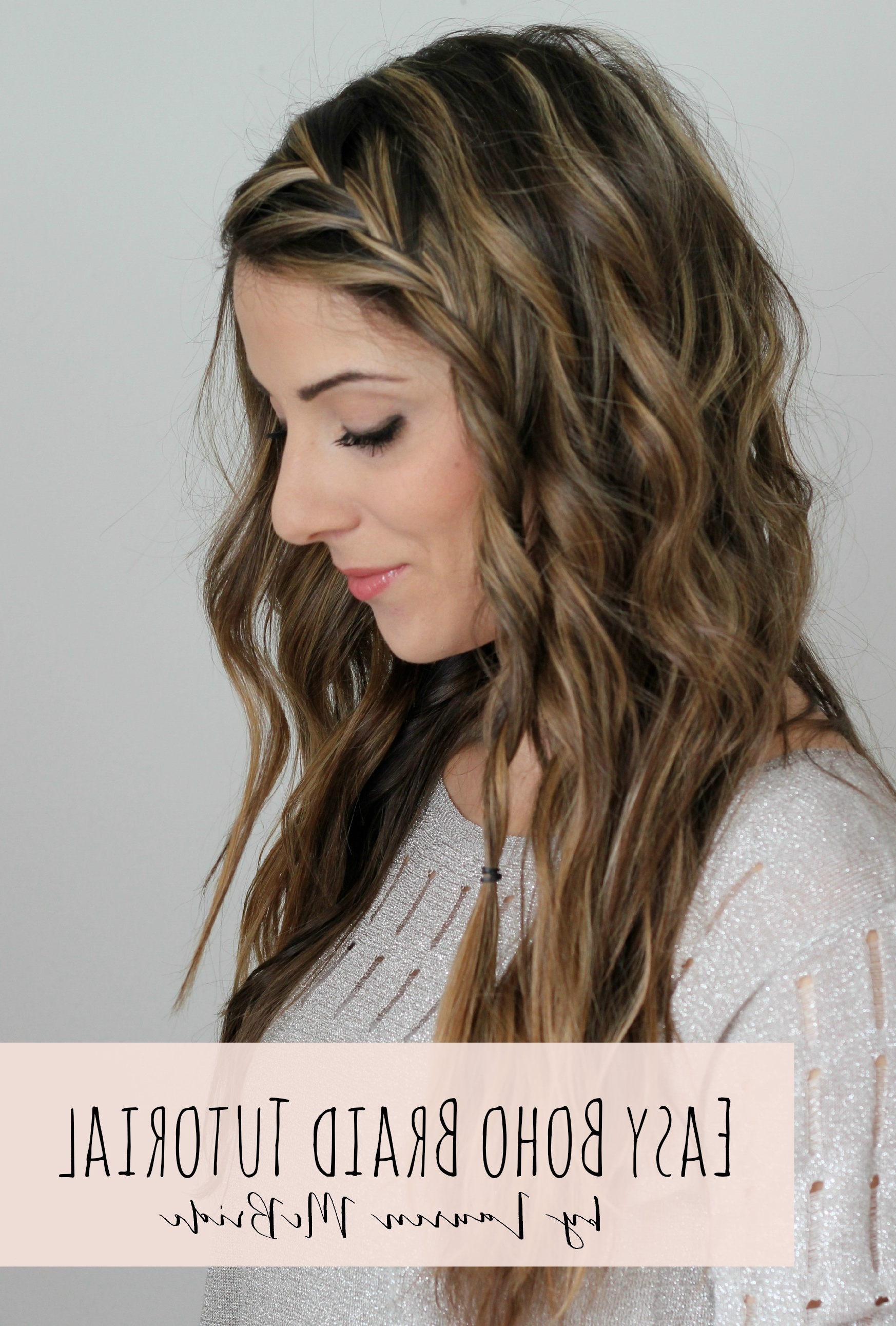 10 Easy Bohemian Hairstyles – Pink Martini Journal For Boho Updos For Long Hair (View 1 of 15)