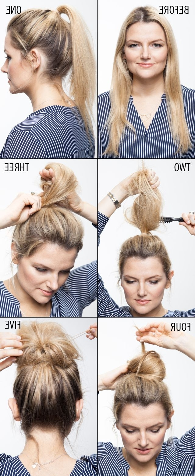 10 Hair Tutorials To Try: How To Teased Hair – Pretty Designs Intended For Teased Updo Hairstyles (View 5 of 15)