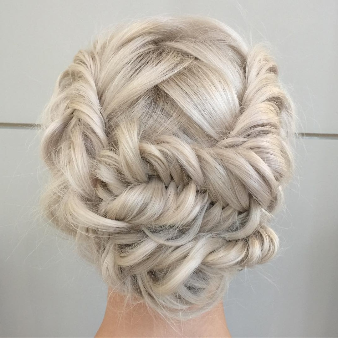 100 Cute Hairstyles For Long Hair (2018 Trend Alert) Pertaining To Blonde Updo Hairstyles (View 4 of 15)