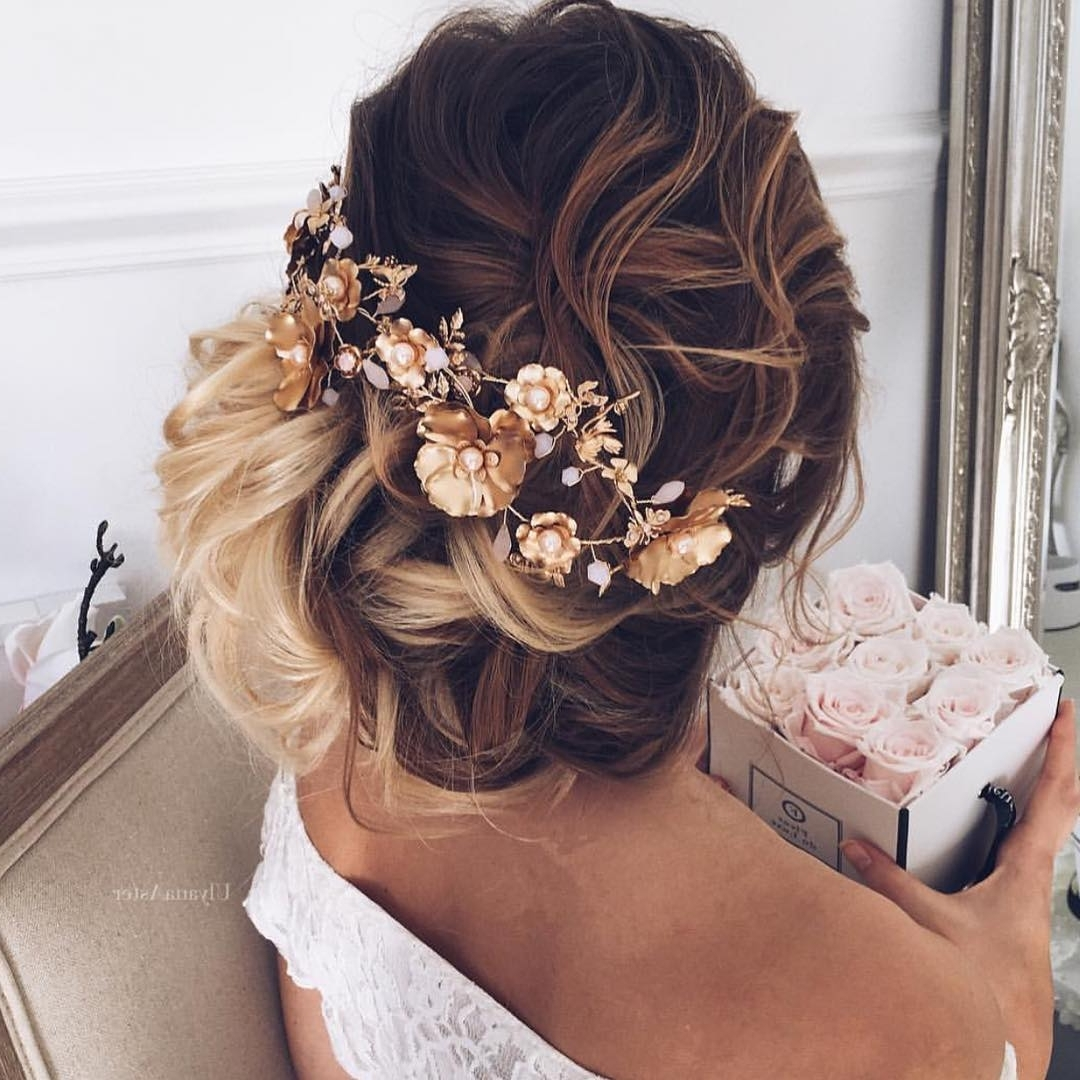 100 Cute Hairstyles For Long Hair (2018 Trend Alert) Within Updo Hairstyles With Flowers (View 1 of 15)