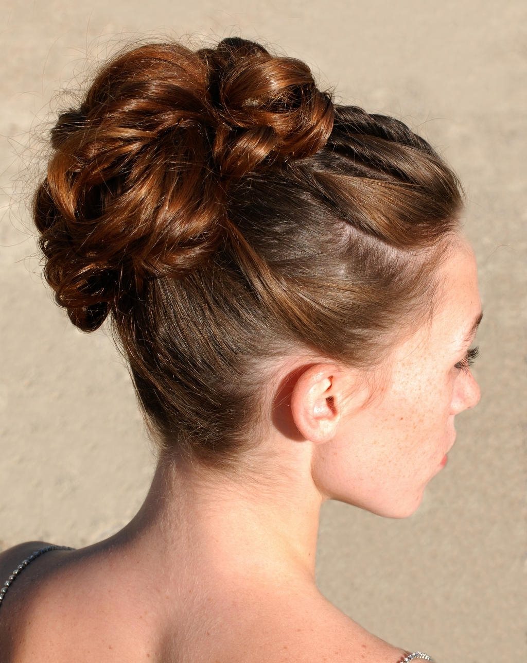 100+ Delightful Prom Hairstyles, Ideas, Haircuts | Design Trends Within Updo Hairstyles For Thick Hair (View 1 of 15)