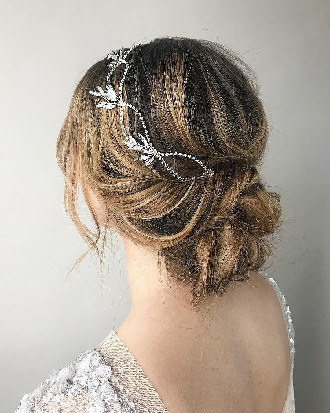 100 Gorgeous Wedding Hair From Ceremony To Reception | Messy Updo Throughout Messy Updo Hairstyles For Wedding (View 14 of 15)