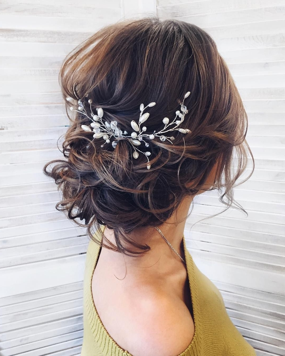 100 Gorgeous Wedding Hair From Ceremony To Reception | Messy Updo Within Messy Updo Hairstyles For Wedding (View 4 of 15)