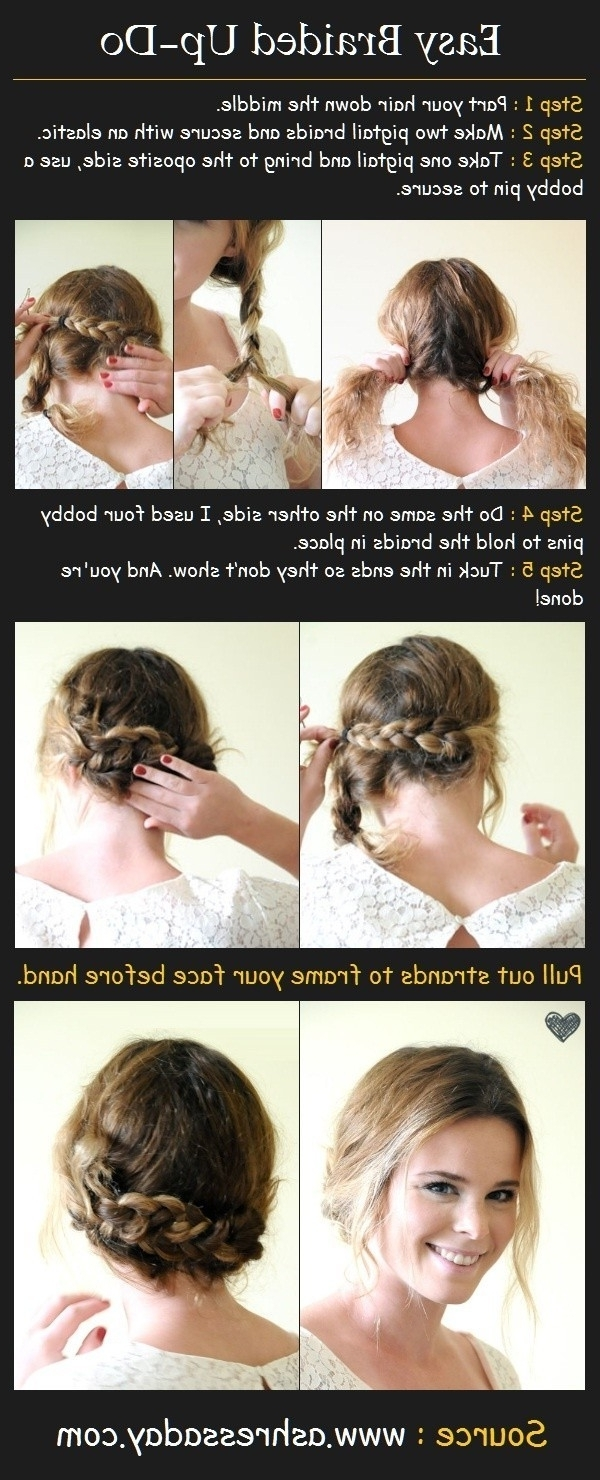 12 Trendy Low Bun Updo Hairstyles Tutorials: Easy Cute – Popular Throughout Easy Updo Hairstyles For Fine Hair Medium (View 13 of 15)