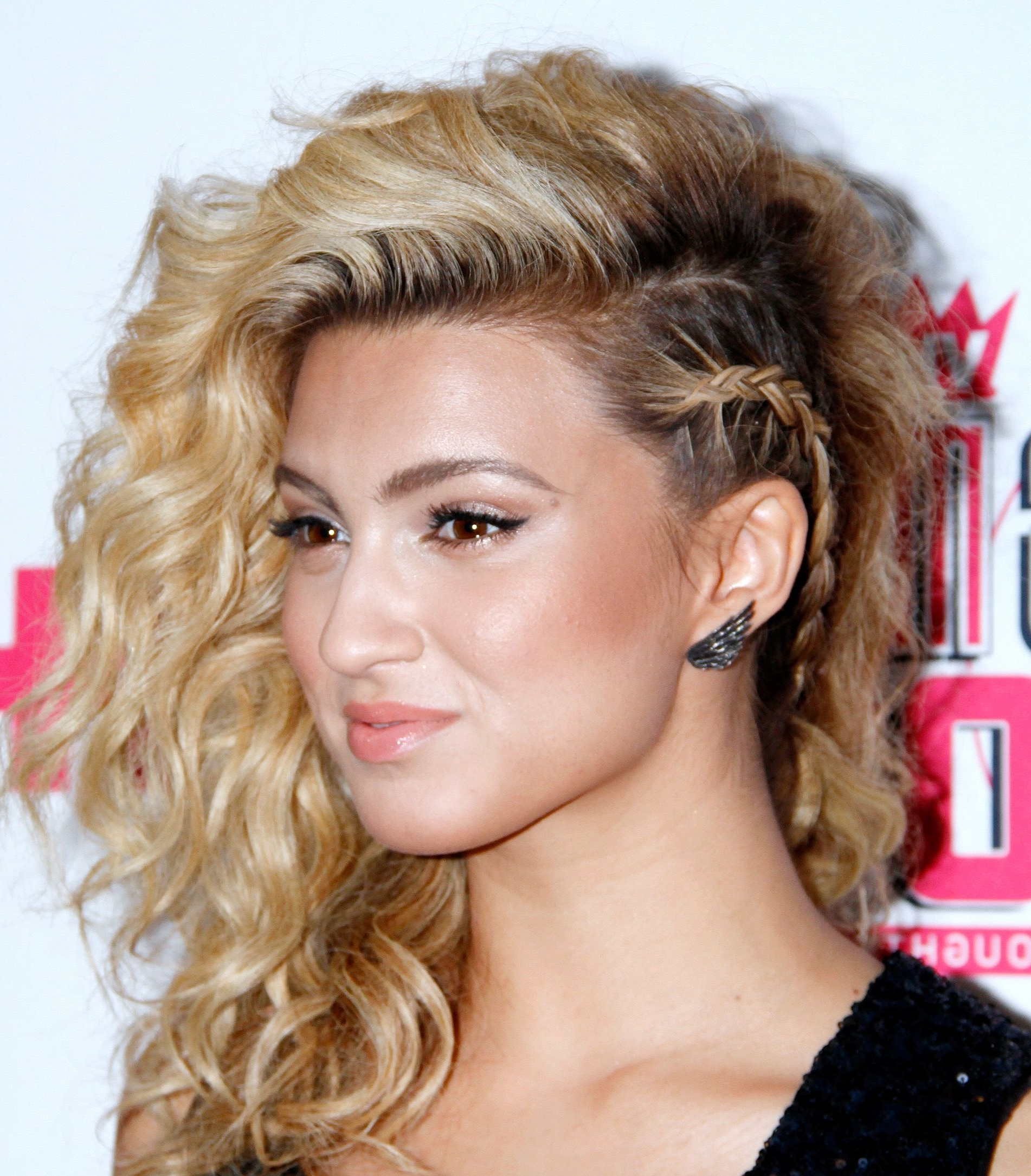 13 Party Hairstyles For Curly Hair | Party Hairstyles, Tori Kelly Inside Casual Updos For Curly Hair (View 10 of 15)