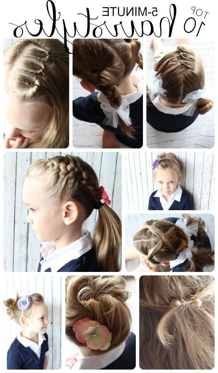 145 Best Kids Hair Ideas Images On Pinterest | Girl Hairstyles Within Updo Hairstyles For Little Girl With Short Hair (View 2 of 15)