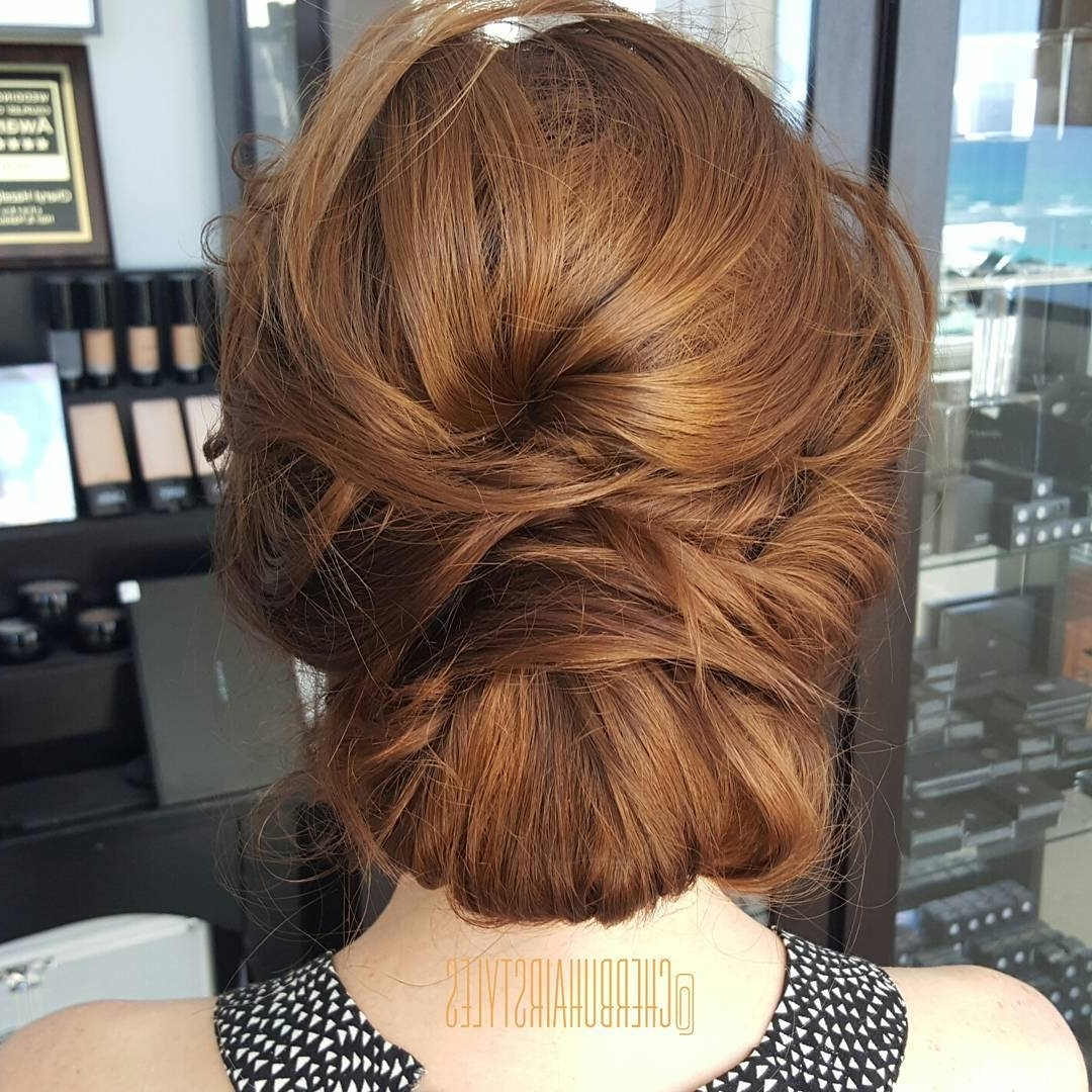 15 Amazingly Easy Updo Hairstyles For Long Hair For Chignon Updo Hairstyles (View 2 of 15)