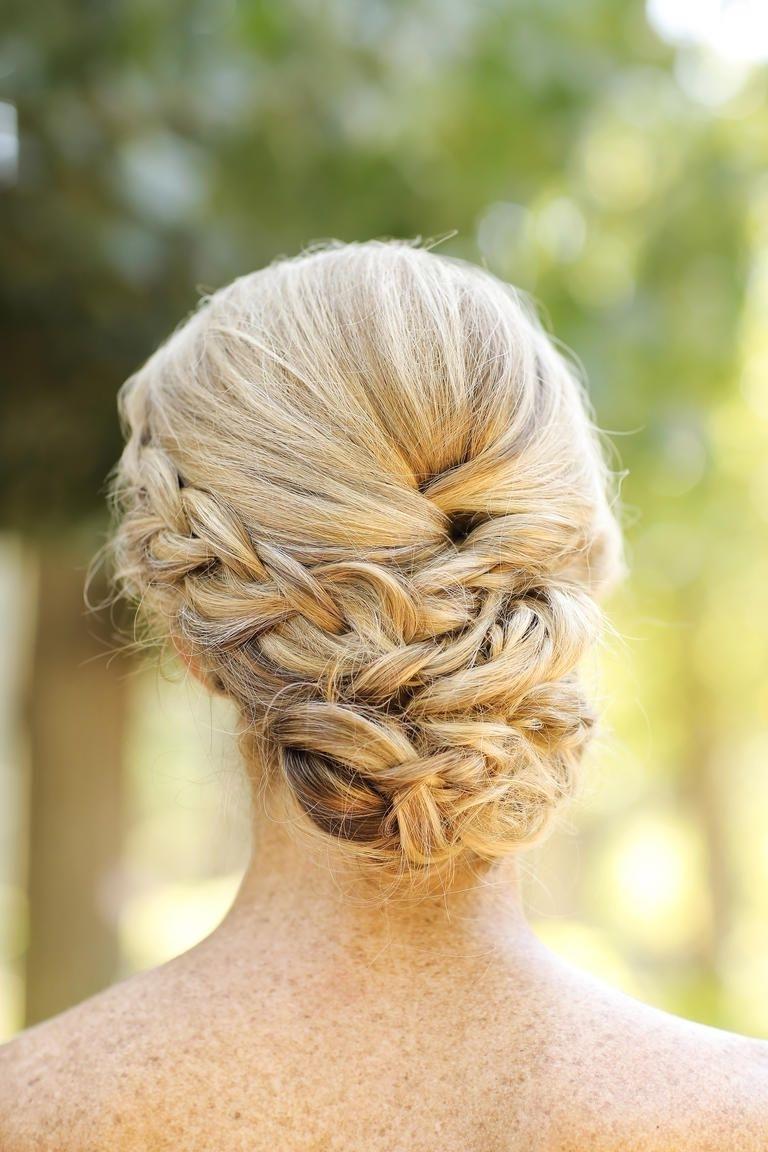 15 Best Bridesmaid Hairstyles For A Strapless Dress | Bridesmaid With Regard To Updo Hairstyles For Strapless Dress (View 13 of 15)