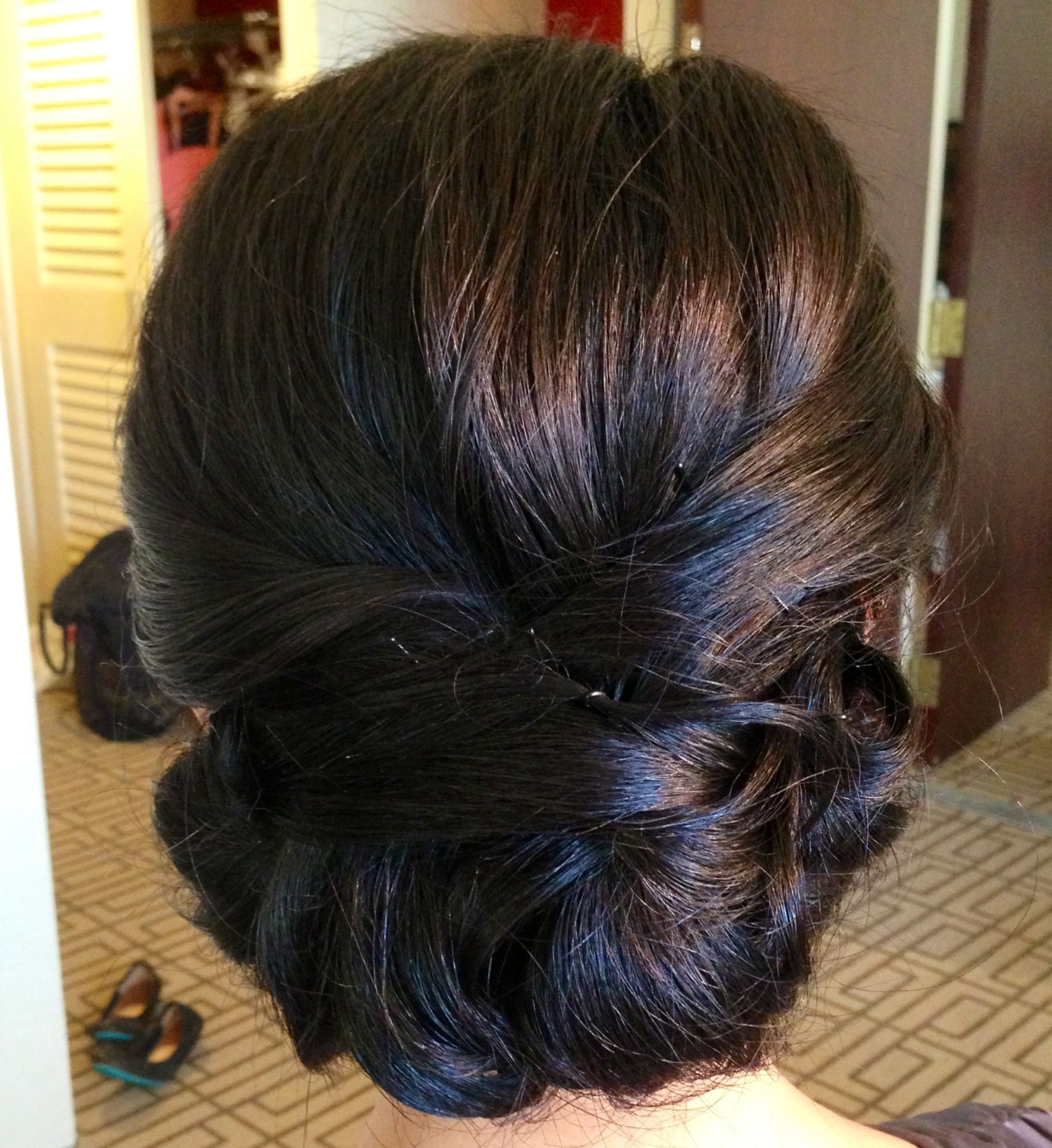 16 Fascinating Asian Hairstyles | Asian Bridal Hair, Classic Updo With Regard To Chignon Updo Hairstyles (View 3 of 15)
