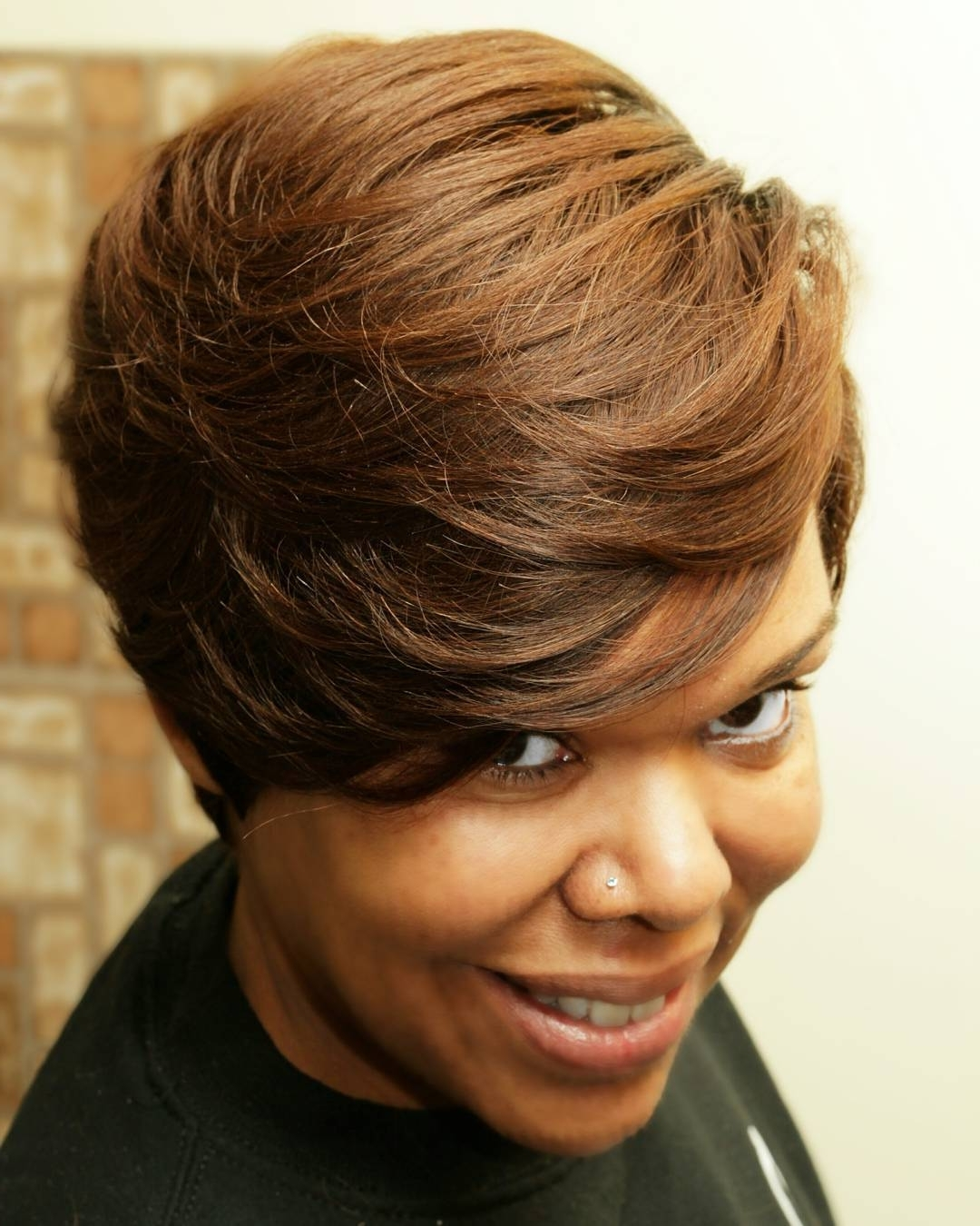 16 Quick Weave Hairstyles For Seriously Posh Women Inside Quick Weave Updo Hairstyles (View 15 of 15)