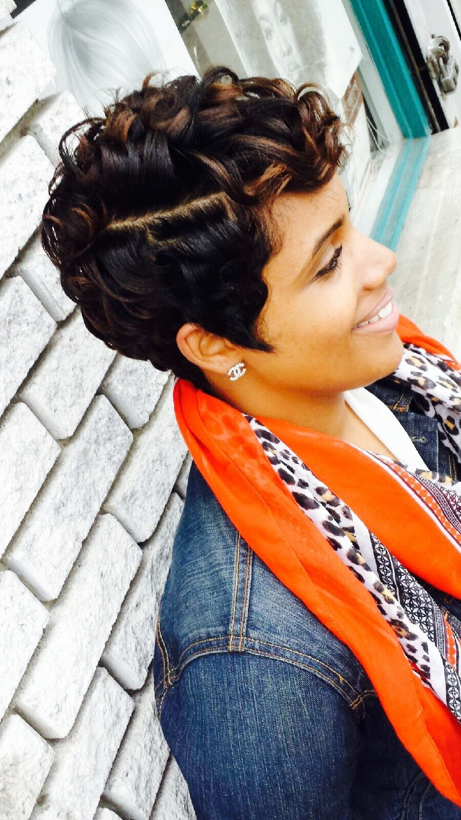 16 Stylish Short Haircuts For African American Women | Short Within Black Updos For Short Hair (View 8 of 15)
