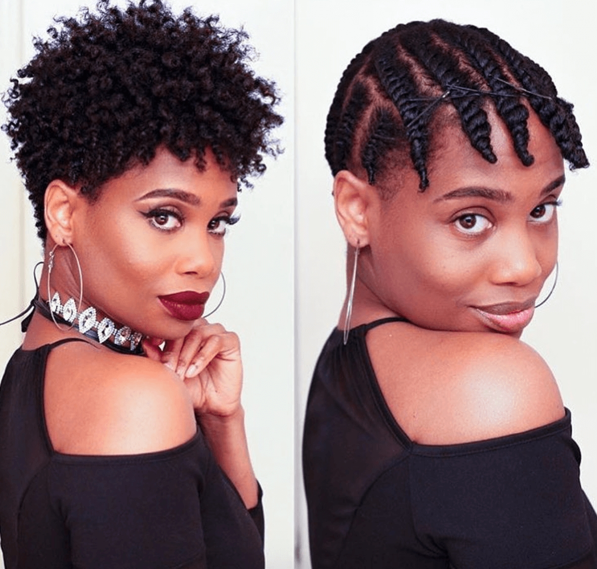 19 Stunning Quick Hairstyles For Short Natural African American Hair With Regard To Quick Updos For Short Black Hair (View 8 of 15)