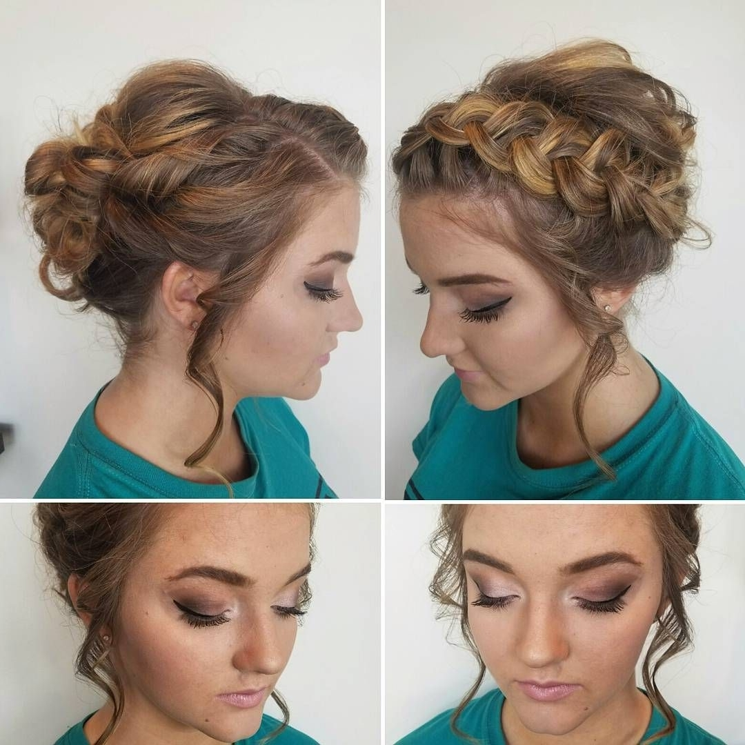 20 Gorgeous Prom Hairstyle Designs For Short Hair: Prom Hairstyles Inside Prom Updos For Short Hair (View 4 of 15)