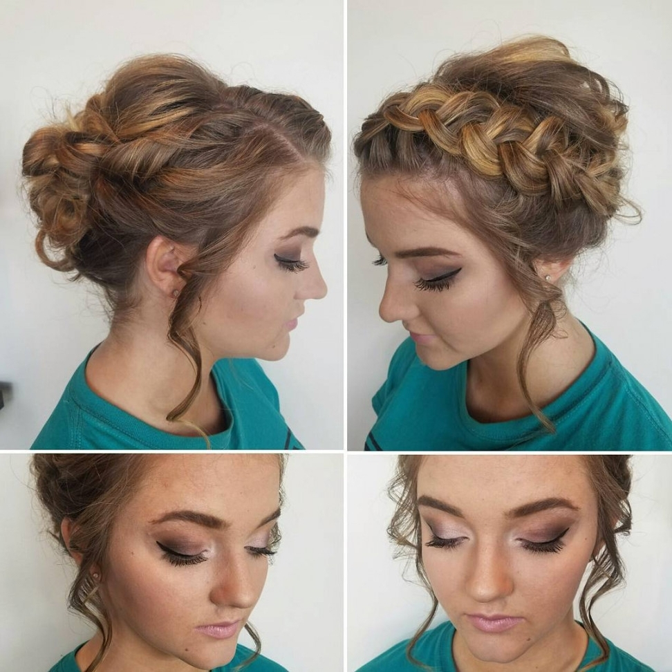 20 Gorgeous Prom Hairstyle Designs For Short Hair: Prom Hairstyles Intended For Formal Short Hair Updo Hairstyles (View 3 of 15)