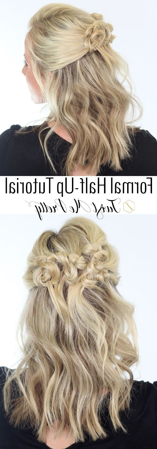 20 Great Hairstyles For Medium Length Hair 2016 – Pretty Designs For Half Hair Updos For Medium Length Hair (View 1 of 15)