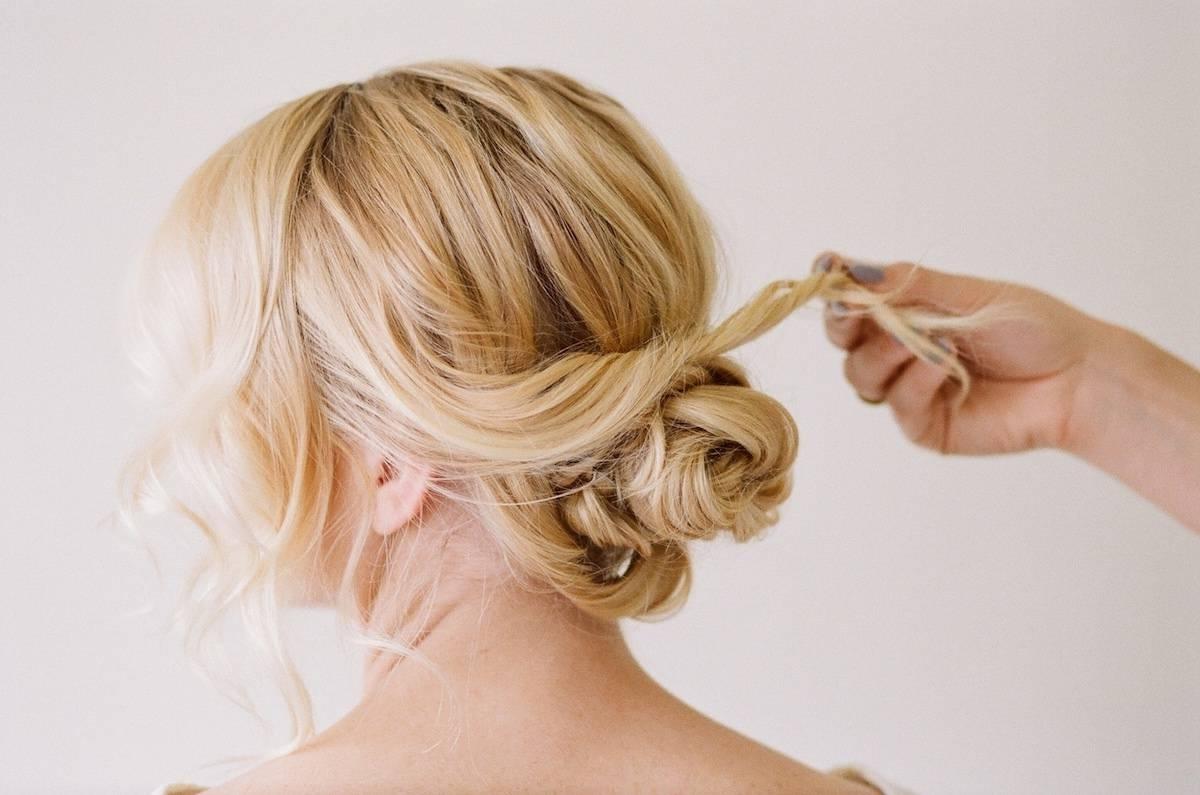 20 Magical Updos Dedicated To Medium Length Hair Regarding Cool Updos For Medium Length Hair (View 4 of 15)