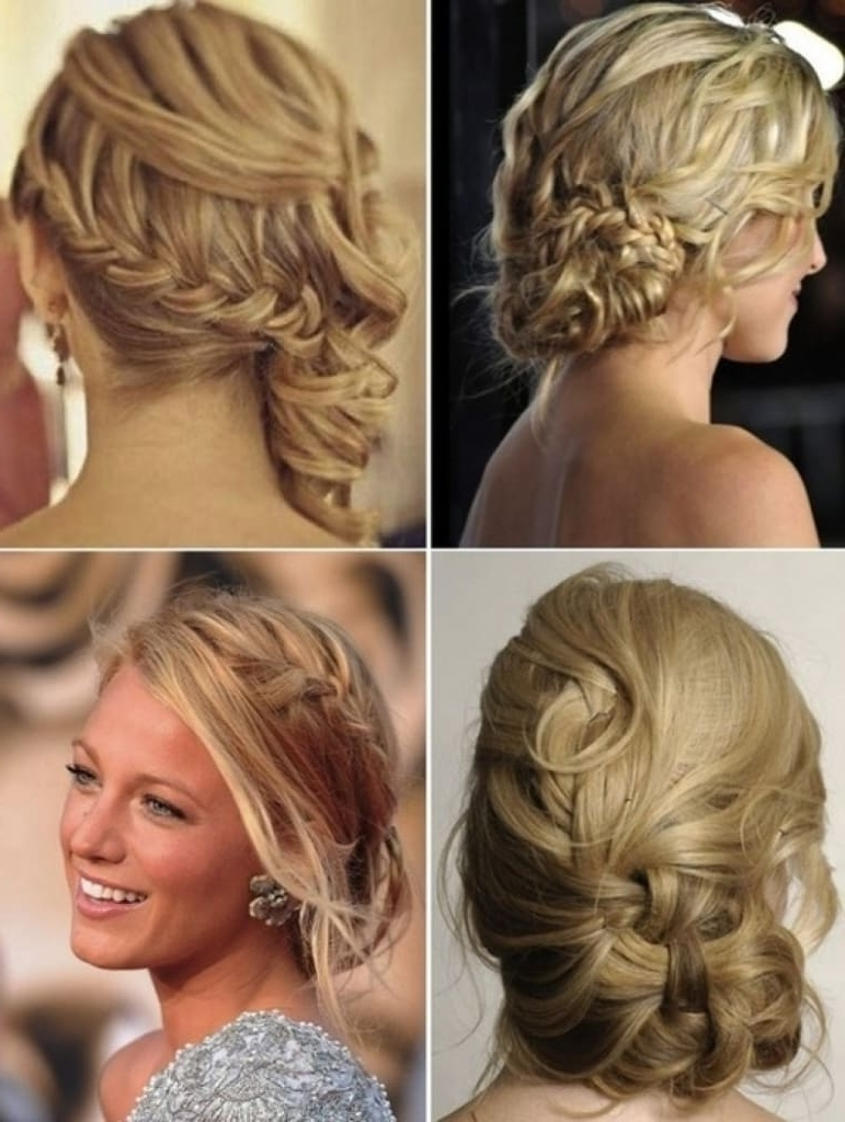 20 Magical Updos Dedicated To Medium Length Hair Regarding Updo Hairstyles For Long Hair With Bangs (View 15 of 15)