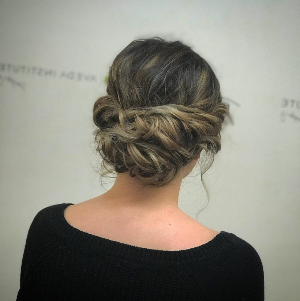 24 Chic Updos For Short Hair These Are Hot For 2018! Intended For Updos For Fine Short Hair (View 3 of 15)