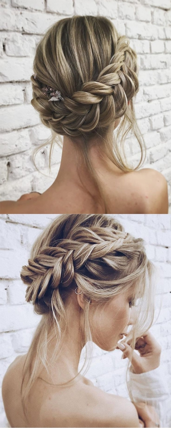 25 Chic Updo Wedding Hairstyles For All Brides Within Wedding Updo Hairstyles (View 2 of 15)