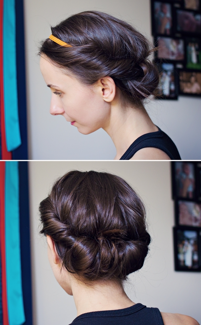 25 Most Beautiful Easy Updos Inside Quick Hair Updo Hairstyles (View 4 of 15)