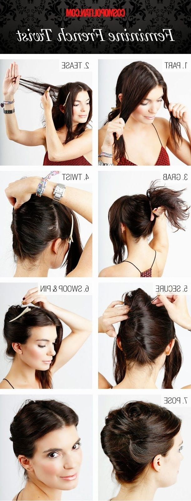 298 Best Peinados Images On Pinterest | Hairstyle Ideas, Hairstyle In Chic Updos For Long Hair (View 4 of 15)