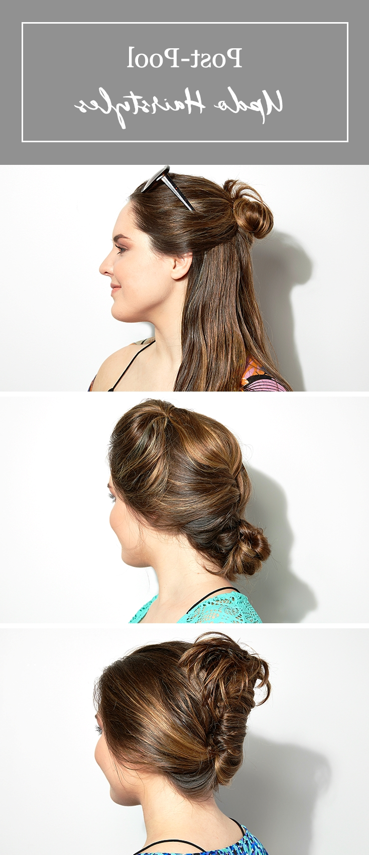 3 Easy Post Pool (Or Beach) Hairstyles (View 1 of 15)