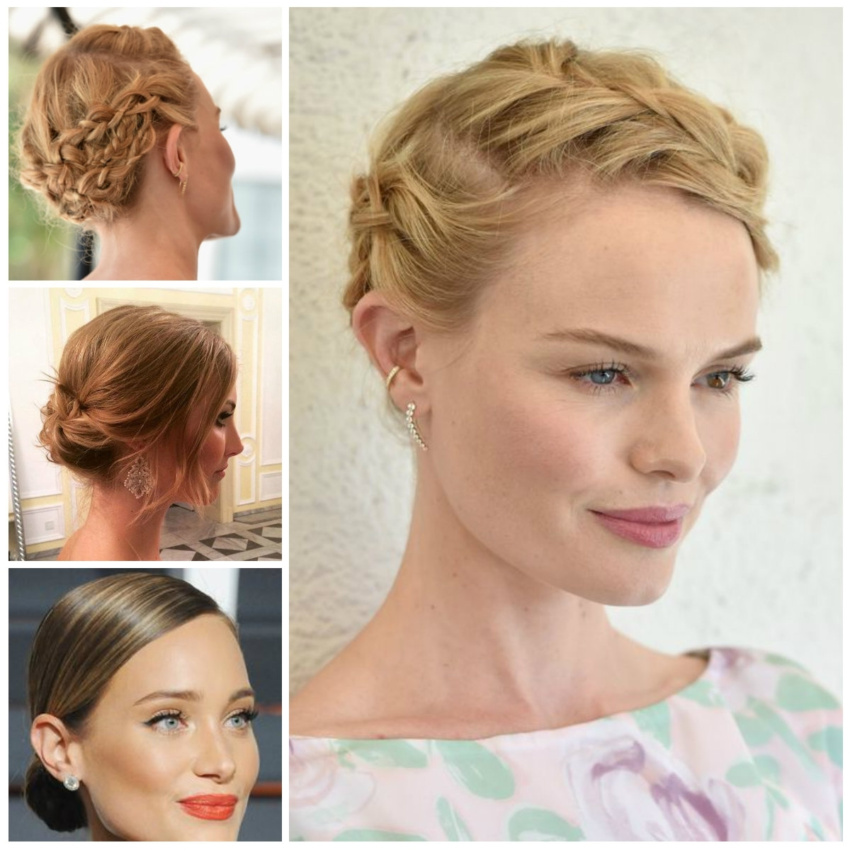 3 Elegant Updo Hairstyles For 2017 | Hairstyles 2018 New Haircuts In New Updo Hairstyles (View 3 of 15)