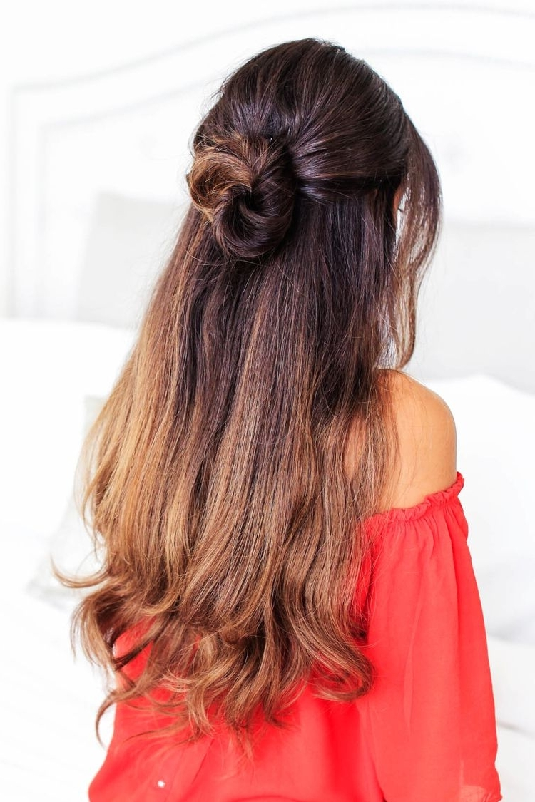 3 Lazy Hairstyles For Lazy Days — Luxy Hair Blog – All About Hair For Luxy Updo (View 13 of 15)