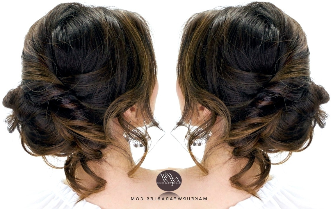 3 Minute Elegant Side Updo | Everyday Easy Hairstyles With Side Updo Hairstyles (View 3 of 15)