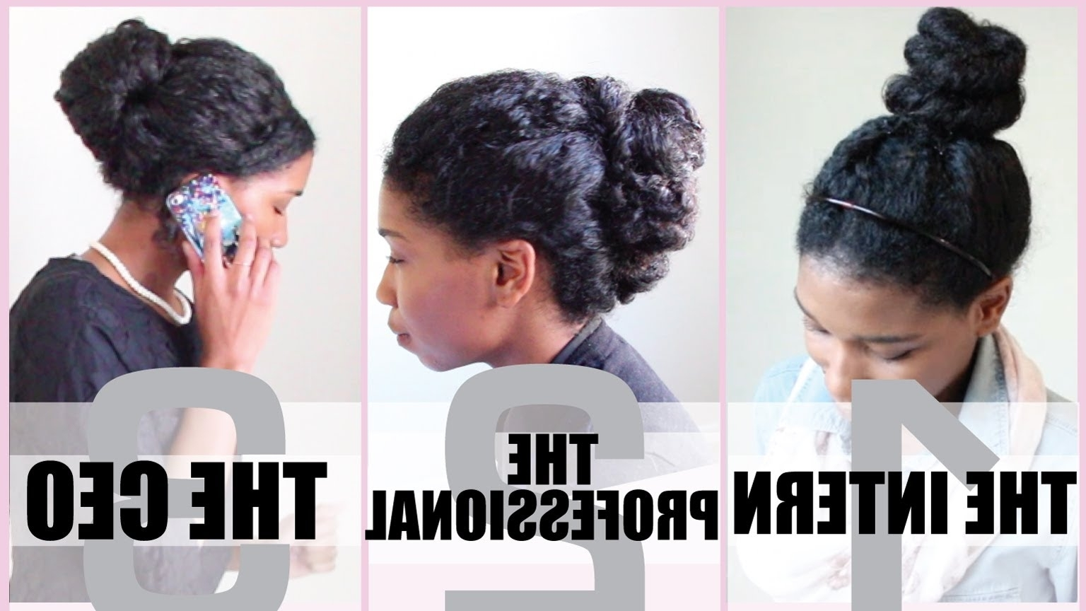 3 No Heat Corporate Protective Styles For Medium Length Natural Hair Regarding Updo Hairstyles For Medium Length Natural Hair (View 9 of 15)