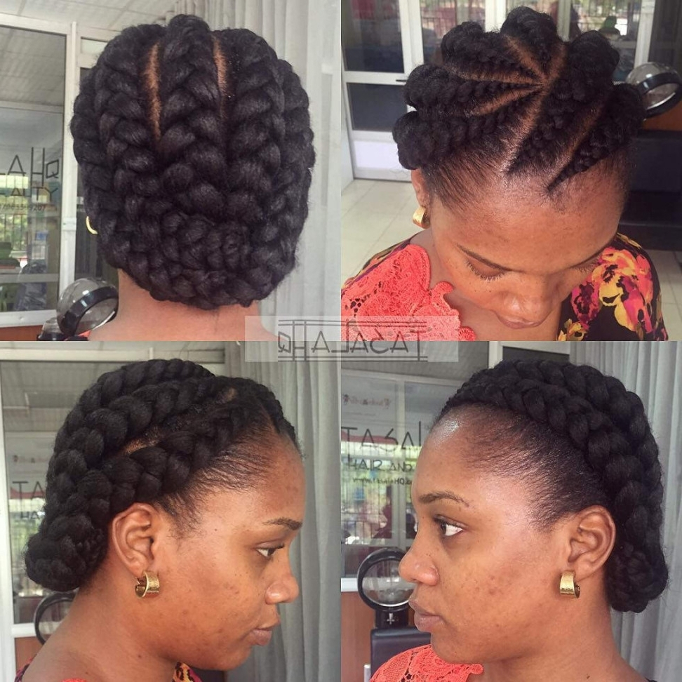 30+ Cornrow Hairstyle Ideas, Designs | Design Trends – Premium Psd Throughout Elegant Cornrow Updo Hairstyles (View 13 of 15)