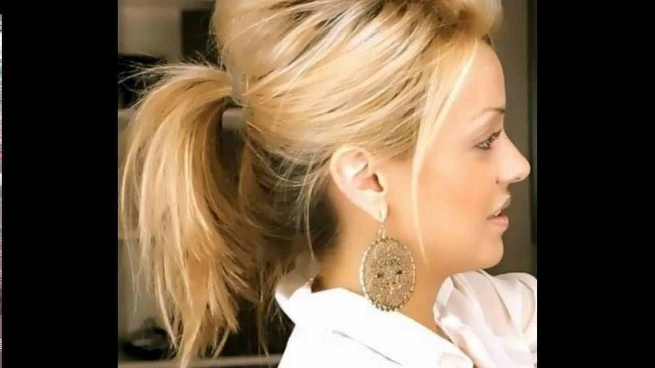 30 Medium Length Hairstyles For Fine Hair | Medium Length Hairstyles Pertaining To Updos For Medium Fine Hair (View 3 of 15)