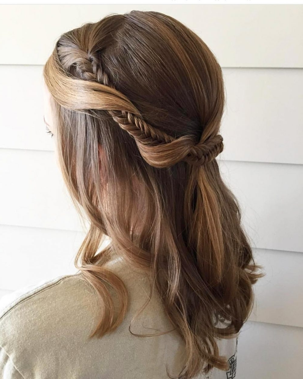 Photo Gallery Of Easy Updo Hairstyles Viewing 5 Of 15 Photos