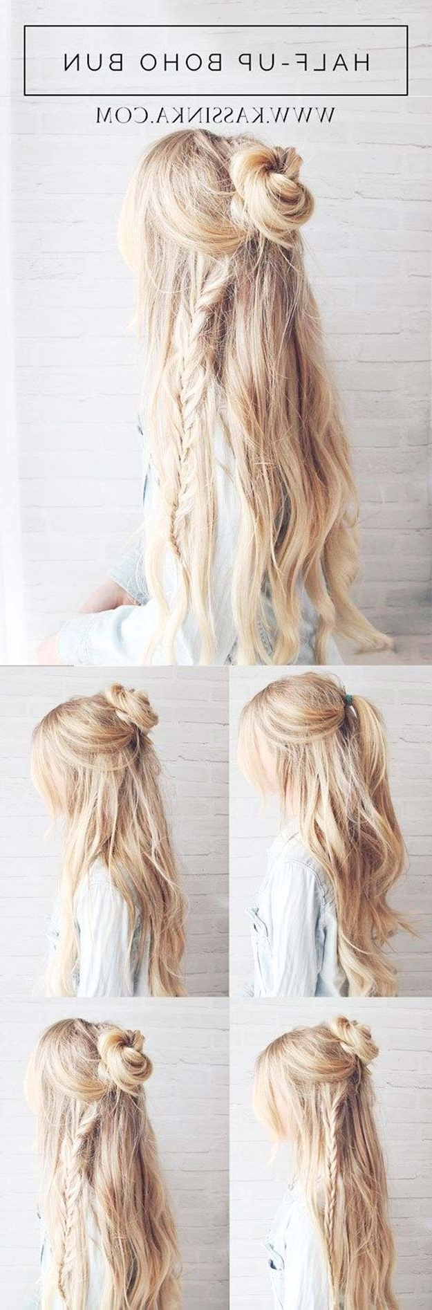 36 Best Hairstyles For Long Hair Intended For Teenage Updos For Long Hair (View 4 of 15)