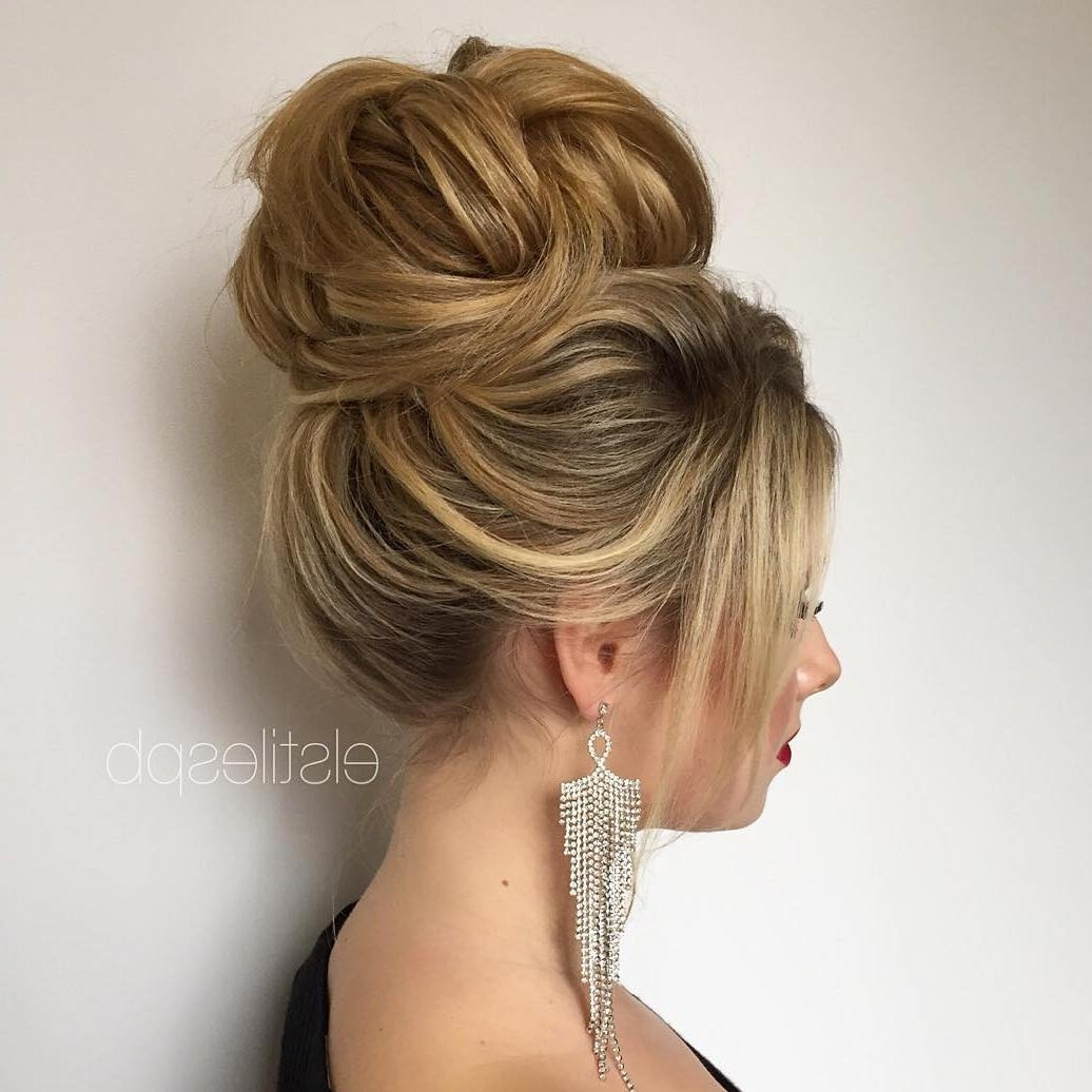 40 Most Delightful Prom Updos For Long Hair In 2018 | High Bun, Prom In Updos For Long Hair (View 5 of 15)