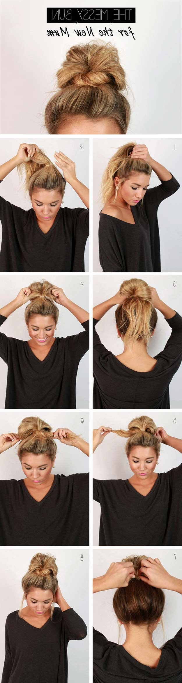 41 Diy Cool Easy Hairstyles That Real People Can Actually Do At Home! With Quick Updos For Long Hair Casual (View 2 of 15)