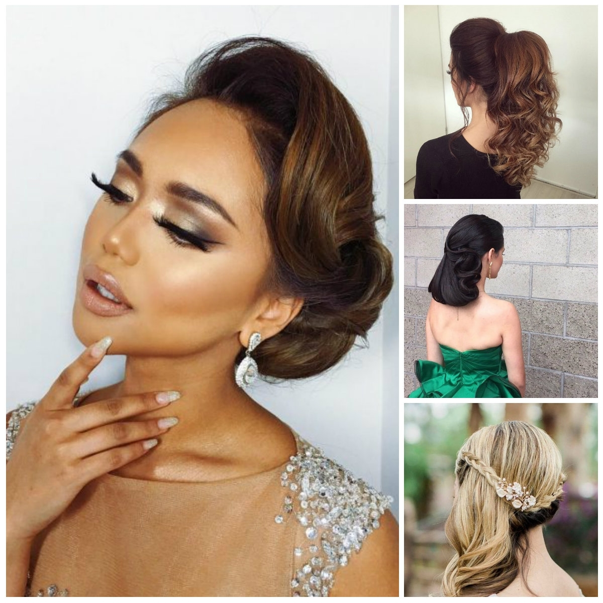 48 Latest & Best Prom Hairstyles 2017 | Hairstylo For Black Hair Updos For Long Hair (View 4 of 15)