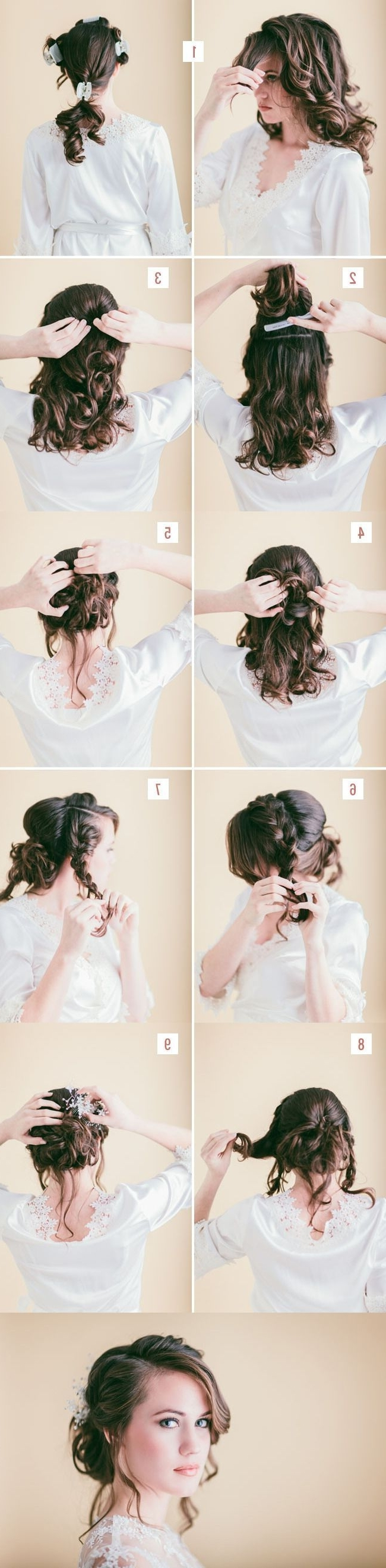 4925 Best Chic Braided Hair Images On Pinterest | Cute Hairstyles With Easy Braided Updo Hairstyles For Long Hair (View 4 of 15)
