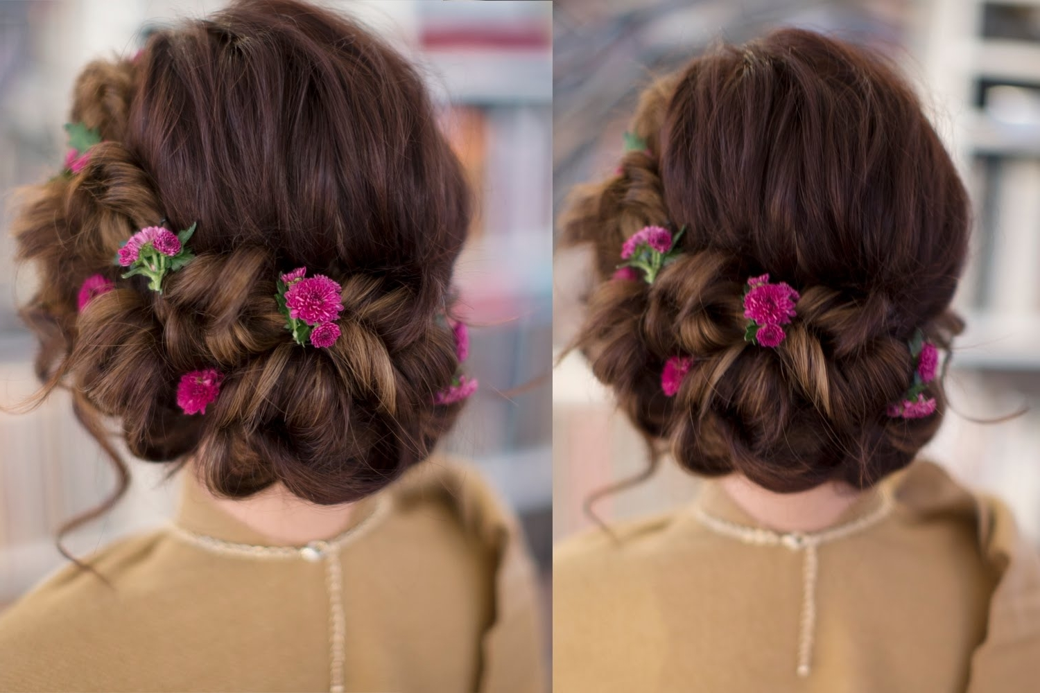 5 Popular Easy Updos For Long Hair – Style Samba With Romantic Updo Hairstyles (View 10 of 15)