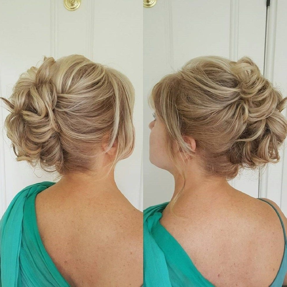 50 Ravishing Mother Of The Bride Hairstyles | Updo, Short Hair And Intended For Mother Of The Bride Updos (View 12 of 15)