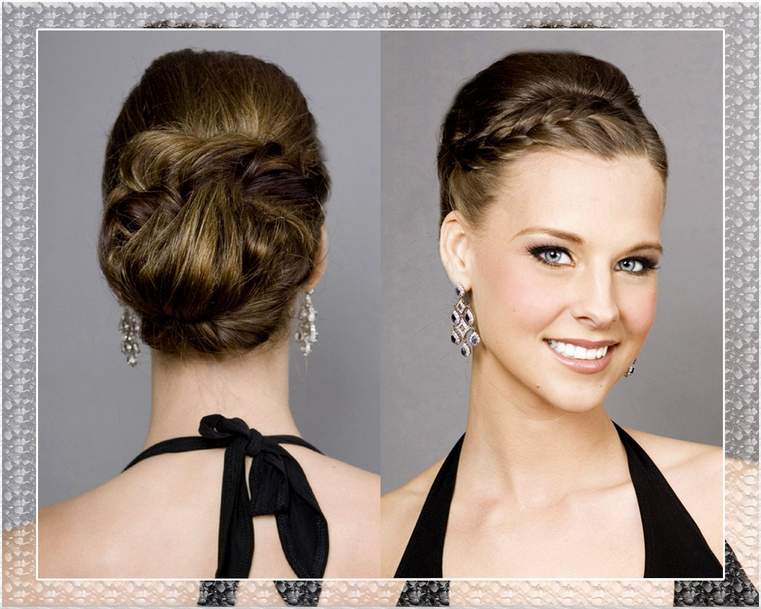 50 Dreamy Wedding Hairstyles For Long Hair: 2019 Popular 50S Updo Hairstyles For Long Hair