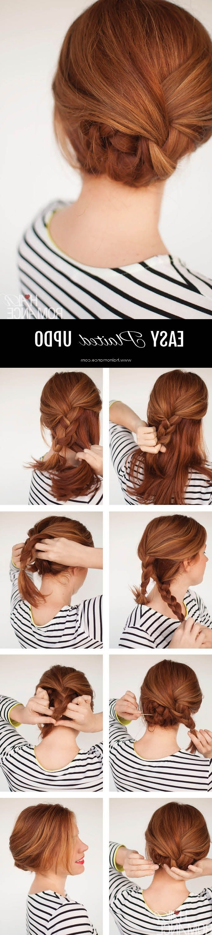 60 Simple Five Minute Hairstyles For Office Women (complete In Long Hair Updo Hairstyles For Over (View 14 of 15)