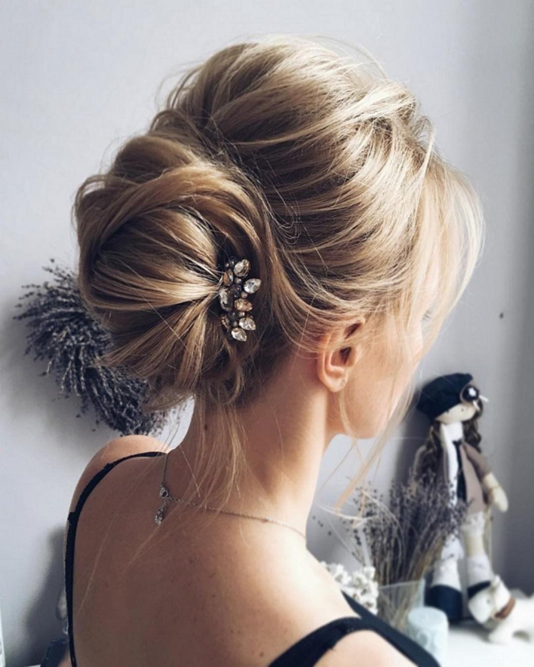 60+ Wonderful Bridesmaid Updo Hairstyles | Bridesmaid Updo For Long Hair Updo Hairstyles For Over (View 10 of 15)