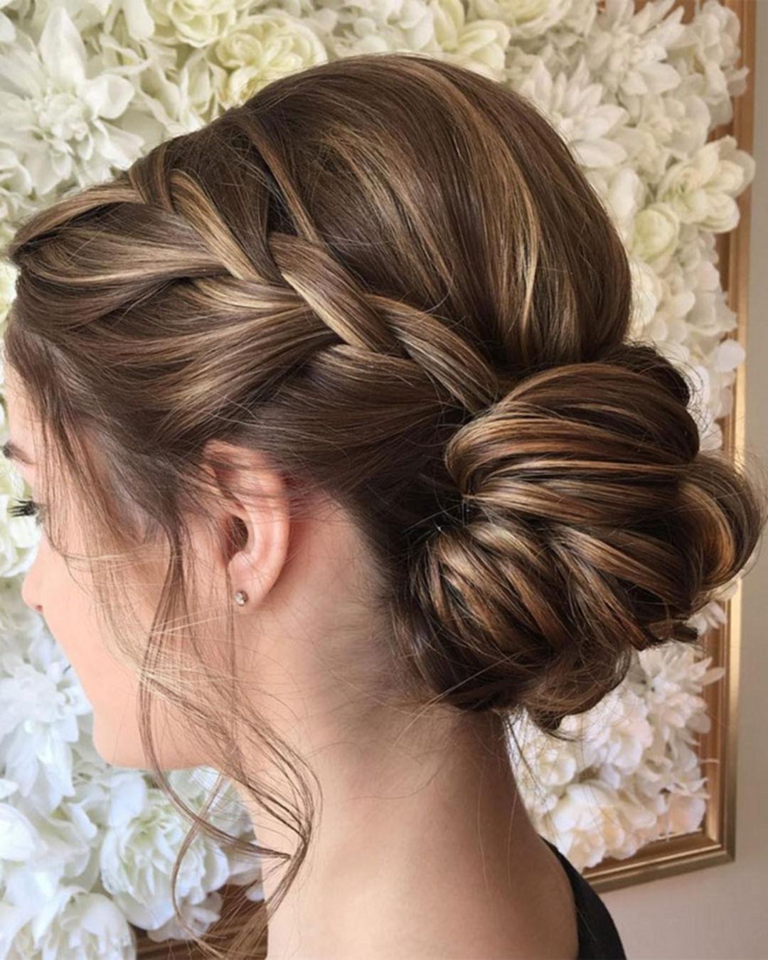 60+ Wonderful Bridesmaid Updo Hairstyles | Bridesmaid Updo In Hairstyles For Bridesmaids Updos (View 2 of 15)