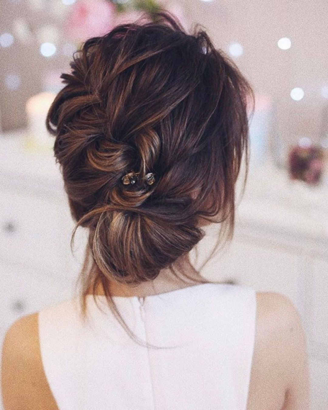 60+ Wonderful Bridesmaid Updo Hairstyles | Bridesmaid Updo With Regard To Long Hair Updo Hairstyles For Over (View 11 of 15)