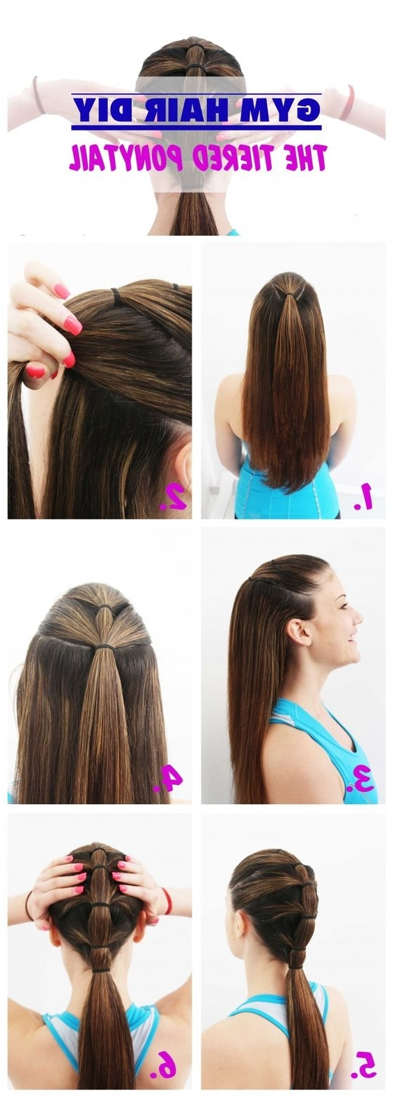 7 Easy Ways To Do Your Hair For Sports Regarding Sporty Updo Hairstyles For Short Hair (Gallery 11 of 15)