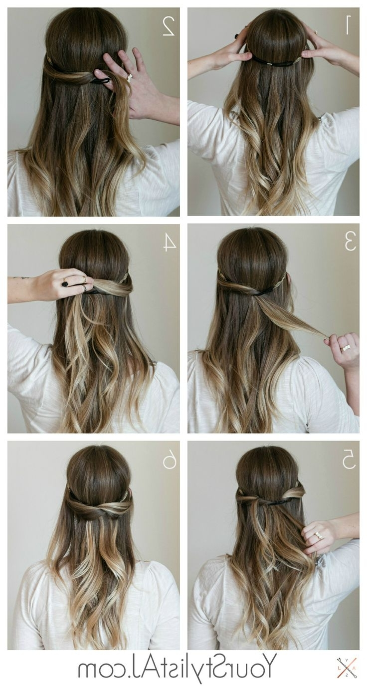 7 Super Cute Everyday Hairstyles For Medium Length – Hair World Magazine In Half Hair Updos For Medium Length Hair (View 9 of 15)