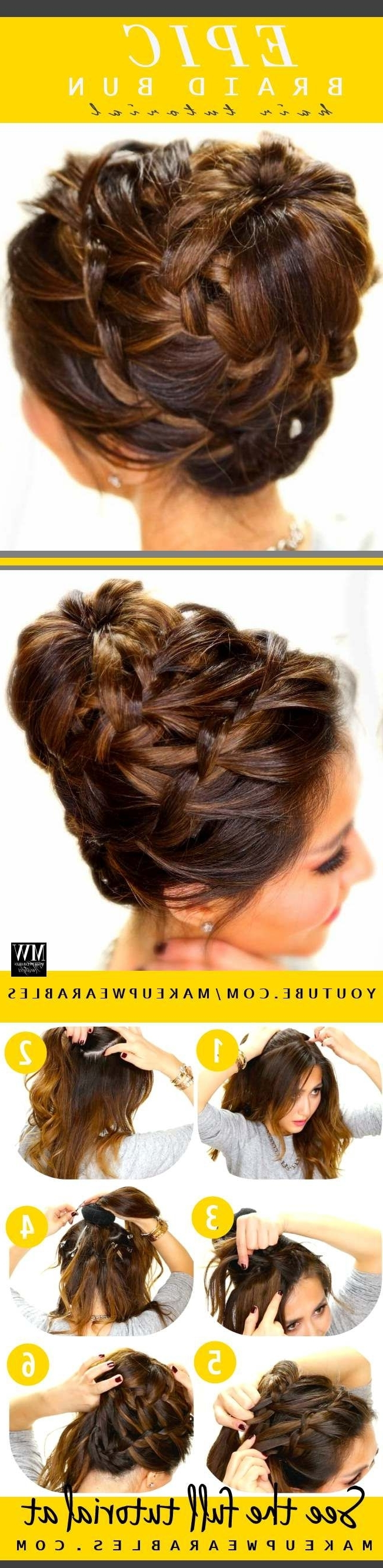 73 Best Hair Images On Pinterest | Braids, Hair Dos And Hairdos Pertaining To Teenage Updos For Long Hair (View 6 of 15)